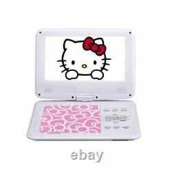 Hello Kitty Portable DVD Player 9 inches Pink AVOX Sanrio Japan DHL Fast NEW