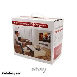 KSD-368 40 Lumens Home Projector Portable LED Projector DVD Player for Business