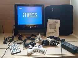 MEOS 12.1 Portable TV/DVD Player case & Full Accessories Campervan Motorhome TV