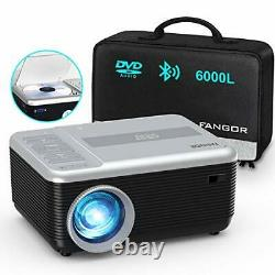 Mini Projector, Portable Movie Projector Built in DVD Player, HD 1080P