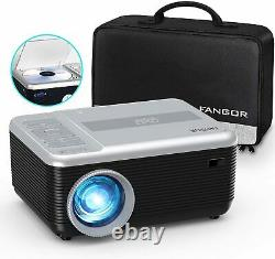 Mini Projector bundle FANGOR Portable Projector with DVD Player 1080P Support