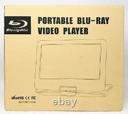 NAVISKAUTO 14 Portable Blu-Ray DVD Player with Built-in Rechargeable Excellent