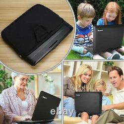 NAVISKAUTO 16 Portable DVD Player with Large Screen Free Carry Bag Recha. New