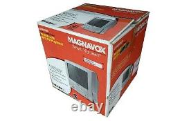 NEW IN BOX MAGNAVOX 13 Color TV/DVD Combo Player 13MDT20 CRT RETRO GAMING
