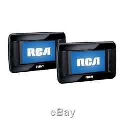NEW RCA 7 Twin DVD Player for iPod/iPhone Movie Backseat Car Portable