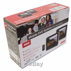New RCA 7.0-inch LCD DualScreen Portable Mobile 7 DVD Player System DRC69705E22