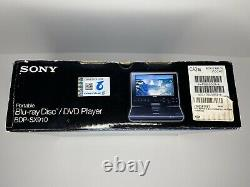 New Sony Portable BlueRay DVD Player 9 High-Res LCD NTSC (BDP-SX910)