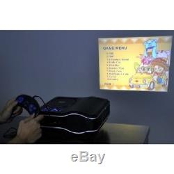 PORTABLE DVD Player Projector Combo Remote LED HOME THEATER Family Movie night