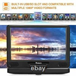PUMPKIN 12 Portable Blu Ray DVD Player with 5 Hours Rechargeable Battery Supp