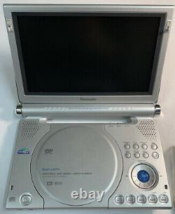 Panasonic DVD-LA95 9-Inch Portable DVD Player With Battery Pack & Remote New