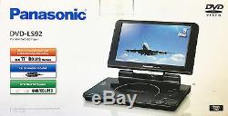 Panasonic DVD-LS92 9 Portable DVD Player DVDLS92 Used In Retail Package