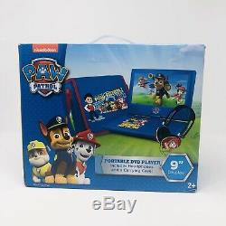 Paw Patrol 9 Portable DVD Player with Carrying Bag and Headphones, Set Of 2 New