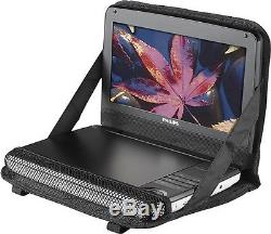 Philips PD9000 9 LCD PORTABLE DVD PLAYER With 5 HOUR BATTERY & BUILT-IN SPEAKERS