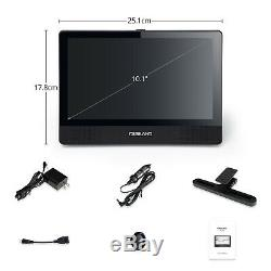 Portable DVD Player Android 10.1 Touchscreen Wi-Fi Tablet Quad-Core 1.3G + 16GB