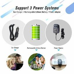Portable DVD Player with 15.6 Swivel Screen 4H Battery SD Card 1.8M Car Charger