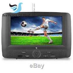 Portable DVD Player with Dual DVD Players Car Ematic 9 Dual ScreenKidsTravel