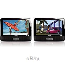 Portable DVD Players Philips PD9016/37 9-inch Portable LCD Dual DVD player by