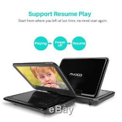 Portable Dvd And Blu-Ray Players Bw 12.5 Inch Portable Dvd Player With 270