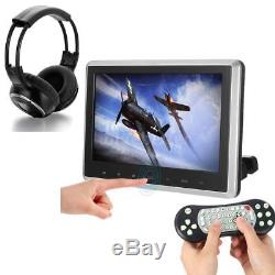 Portable TWO10.1Car Headrest DVD Player Touch Monitor +IR Infrared Headset Z6K2