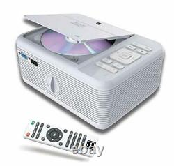 Projector Bluetooth & Built in -DVD Player. Movie Portable Projector with