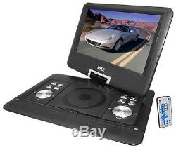 Pyle PDH14 Home 14-in Portable TFT/LCD Monitor With Built-In DVD Player