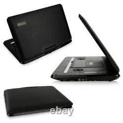 Pyle PDV156BK Portable CD/DVD Player with 15.6 Inch HD Screen and Remote, Black
