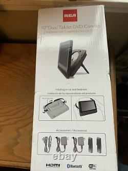 RCA 10 Dual-Screen Portable DVD Player -Brand New In Box