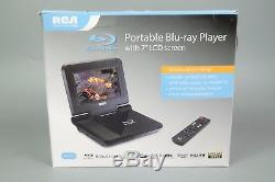 Rca Brc3073 7-inch Portable Blu-ray DVD Player With Remote