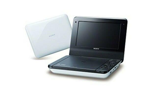 Sony 7v Type Portable Dvd Player White Dvp-fx780 Wc From Japan