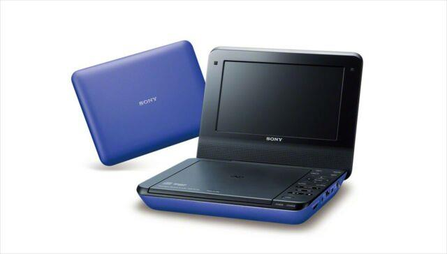 Sony Dvp-fx780 Lc Portable Dvd Player 7v(169) Type Blue Japan With Tracking New