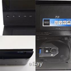 SONY Portable Blu-ray Disc DVD CD Player BDP-SX910 LCD screen Pre-owned F/S