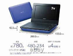 SONY Portable DVD Player DVP-FX780/L Blue Tracking Number NEW