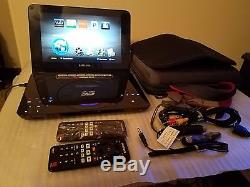 Samsung 3D Blu-ray DVD Portable Player WiFi Ready 1080p 10.3 with Remote BD-C8000