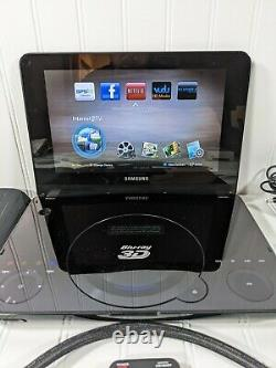 Samsung BD-C8000 Full HD 1080P 3D Portable Blu-Ray Player WithRemote, Cords & Case