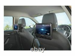 SilverCrest Portable In-Car 9 Dual Screens DVD Player with Mounting Kit+Carry Bag