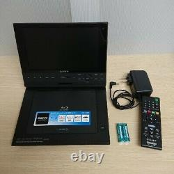 Sony 9V portable Blu-ray Disc Player BDP-SX910 with AC Adapter Mobile