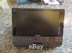 Sony 9 Portable Bue-Ray/Dvd player Model BDP-SX910 LIKE NEW