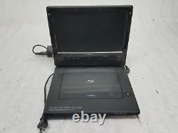 Sony BDP-SX1000 Portable BluRay/DVD 10.1 Player with Charger TESTED WORKING Fair