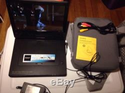 Sony BDP-SX1000 Portable Blu-Ray DVD Player (10.1) Case Logic Carrier Included