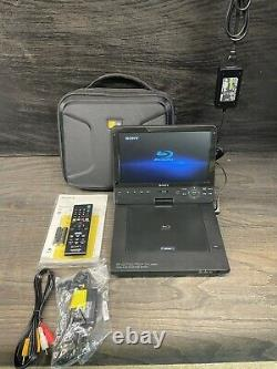 Sony BDP-SX1000 Portable Blu-Ray Player (10.1 Screen), Carry Case, Hardly Used