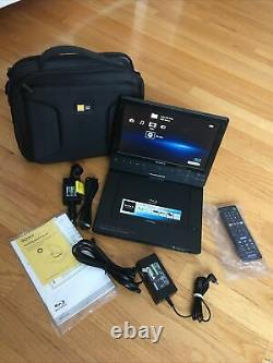 Sony BDP-SX1000 Portable Blu-Ray Player (10.1 Screen), Nice Carry Case