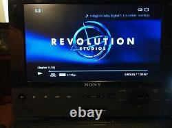 Sony BDP-SX910 9 Screen Portable Blu-ray Disc Player TESTED/WORKS, MAKE OFFER