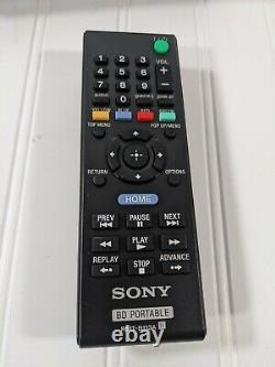 Sony BDP-SX910 Portable Blu-Ray DVD Player 9 Screen withRemote, DC Cord, AC Cord
