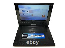 Sony BDP-SX910 Portable Blu-Ray Disc DVD Player with Remote Charging Cable & Case