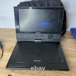 Sony BDP-SX910 Portable Blu-Ray Disc & DVD Player with Wall Charger & Carrying Bag