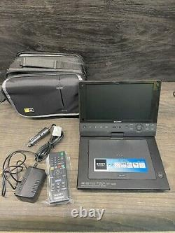 Sony BDP-SX910 Portable Blu-Ray Player (9Screen), Carry Case And Both Chargers