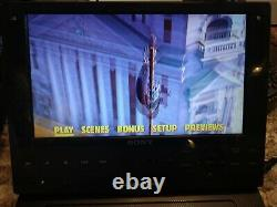 Sony BDP-SX910 Portable Blu-Ray Player with Screen (9) Tested Working Free S/H