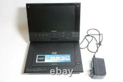 Sony BDP-SX910 Portable Blu-ray DVD Player Wide Screen 9 inch AC Adapter Mobile