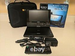 Sony BDP-SX910 Portable DVD Player with 9 Screen, USB Playback, HDMI output