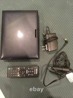 Sony BDP-SX910 Portable DVD Player with Car and Wall Charger, Remote and Bag
